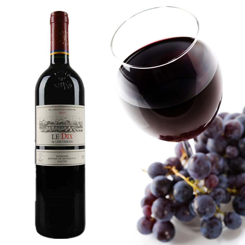 【酒庄正品】拉菲进口红酒 巴斯克十世红葡萄酒 法国原瓶 特价