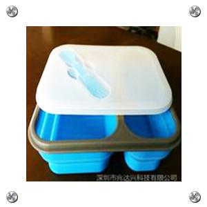 硅胶厨具 硅胶饭盒订做 质量第一 硅胶第一品牌折叠饭盒