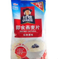 优质低价批发供应 桂格即食燕麦片即食早餐冲饮麦片
