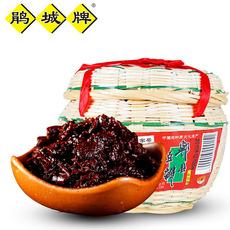 鹃城牌 郫县豆瓣酱 一级豆瓣 精致竹笼 1kg 川菜调料川菜之魂
