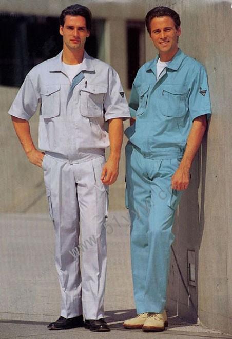 厂家定做工作服制服套装定做批发供应