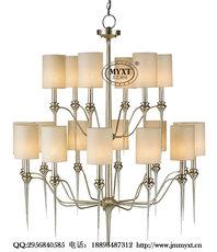 酒店工程吊灯 泰式酒店吊灯 东南亚风格酒店灯具 工程吊灯定制