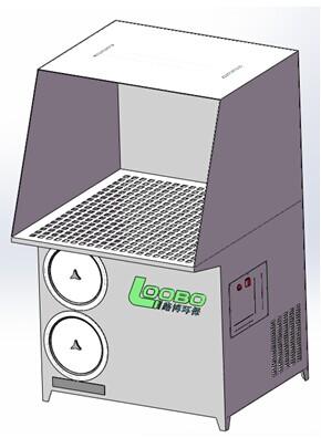 打磨抛光粉尘处理器 金属粉尘净化机