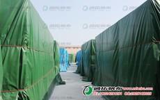 湛江猪场遮阳篷布 耐高温篷布 停车棚帐篷加工定做TD2X2-1