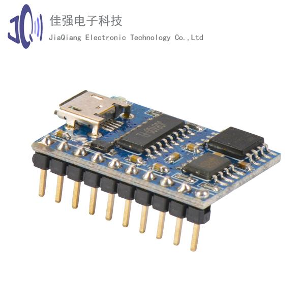 JQ8400-FL-10P语音模块语音芯片语音IC MP3芯片串口控制USb下载语音芯片提供资料