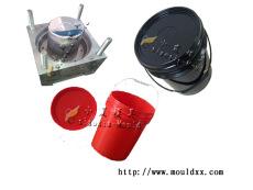 开口涂料桶模具,涂料桶模具