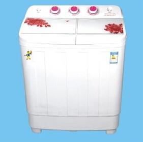供应 新款钢化玻璃板5公斤系列洗衣机 带甩干双桶厂家批发洗衣机