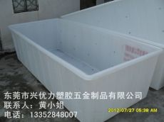 供应:环保方形水箱 推布车专用印染方形桶 制衣厂用运输布料桶