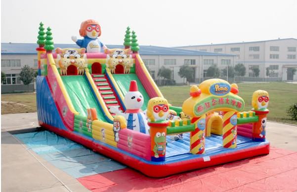 重庆儿童充气蹦蹦床/大型充气城堡乐园/充气大滑梯