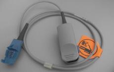 GE欧美达监护仪指夹式血氧探头一体成人儿童指夹式缠绕式耳夹式血氧探头连接电缆