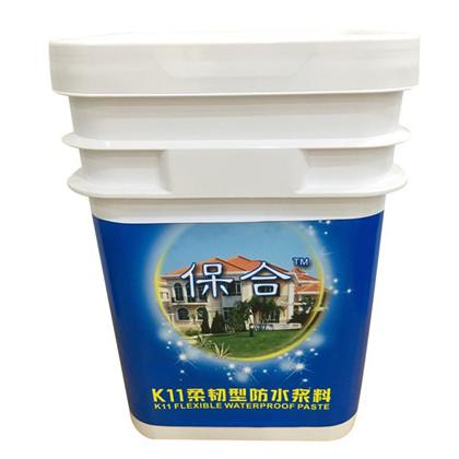 贺州K11柔韧型防水涂料价格 保合高弹抗裂屋面地面K11防水材料