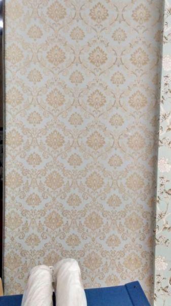 郁金香欧式壁纸卧室立体电视背景墙纸