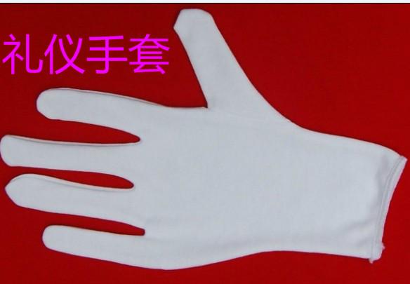 脱脂白棉布手套标准生产商标产品亮点新款DW-2型手戴可手舒服能水洗再用