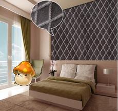 供应 仿皮纹红色墙纸 欧式pvc背景墙3d立体壁纸欧式3d立体墙纸软包墙纸