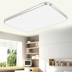 LED吸顶灯 超薄苹果长方形现代简约铝材亚克力客厅卧室吸顶灯具