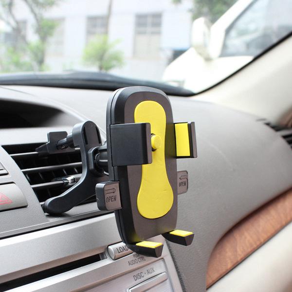 礼品车载手机支架汽车用出风口吸盘式手机座导航仪表台手机通用