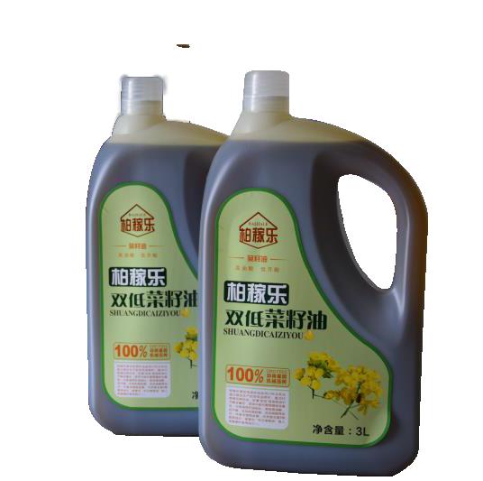 柏稼乐双低菜籽油3L