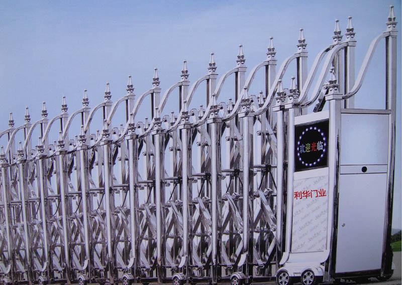 不锈钢电动北京伸缩门型号-38