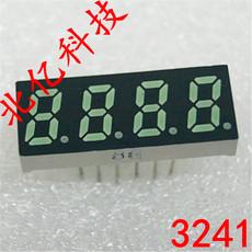 供应3241动态数码管厂家 0.32英寸超小超薄七段四位数码管