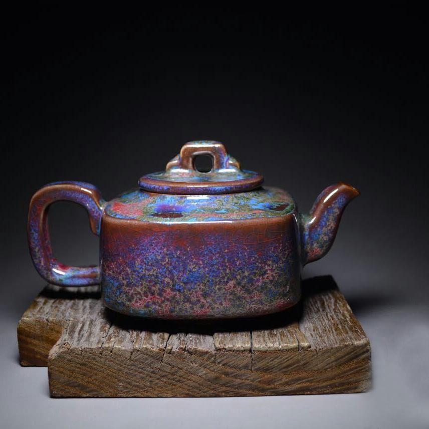 红远钧窑 精美茶具 钧瓷茶具 家用茶具