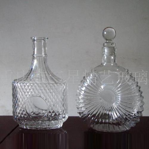 供应 三星精艺玻璃酒具酒瓶洋酒瓶