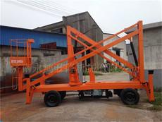 现货供应青海曲臂式升降机,可旋转升降台厂家直销