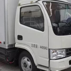东莞租新能源电动4.2米货车面包车物流车