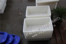 纺织布厂印染专用塑料方箱,塑料推车箱