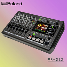 Roland 罗兰 VR-3EX  vr3ex音频 视频混合器 切换器 HDMI输入 输出
