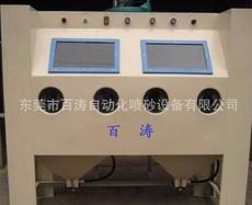 喷砂机厂家厂家直销 双工位手动喷砂机 木材喷砂机
