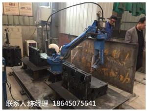 电气柜体焊接机器人工作站