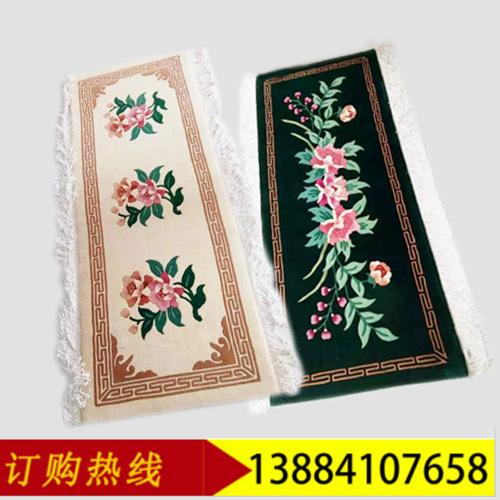纯手工羊毛沙发垫 多规格多色可选 每平方英尺210元