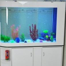 水族箱带鞋柜 金鱼缸创意生态免换水热带鱼LED灯