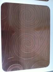 供应松原最专业的304不锈钢水镀古铜板&松原不锈钢水镀古铜板加工厂家