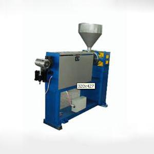 山东莱芜彩华橡塑机械供应各种电线电缆设备   45DL塑料挤出机