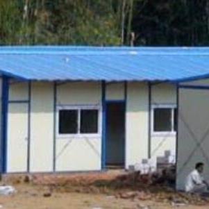 厂家现货供应岩棉复合板北京顺义区活动房 现场焊接北小营活动房