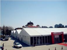 供应全铝合金大型展会棚 欧式尖顶篷