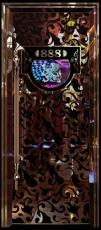 【热销】彩色不锈钢压花门 KTV夜场包厢门板 欧式包厢压花门