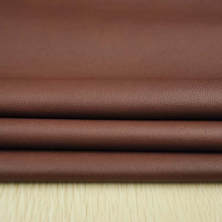 众兴厂家供应头层1.2-1.4MM棕色全粒面小摔真皮牛皮生产厂家 鞋包纳帕牛皮