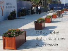 厂家直销室外花箱 游乐景区种树池 防腐木花槽
