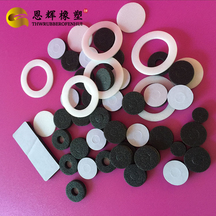 复膜白色发泡PE垫片 PE瓶盖防漏平垫  PB快巴纸垫片专业生产