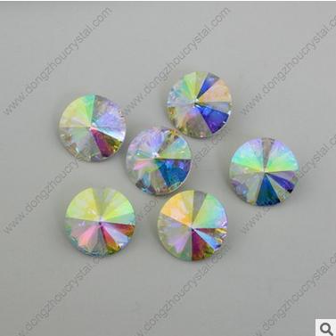 厂家直销 AB彩 卫星石 水晶尖底花式石 异形钻 服饰配件 饰品散珠 玻璃水晶饰品