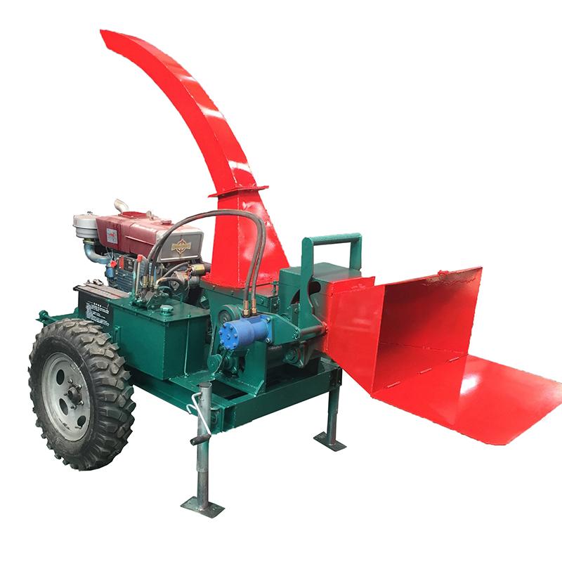 移动式树枝粉碎机 小型树枝粉碎机 郑州移动粉碎机厂家