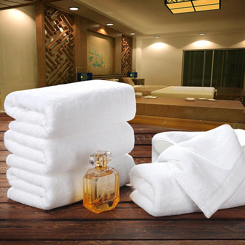 酒店毛巾纯棉白色成人男女宾馆毛巾