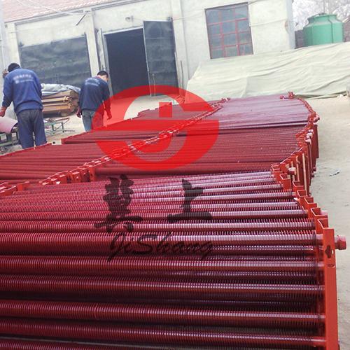 温室大棚翅片管暖气片 螺旋翅片管厂家 冀上