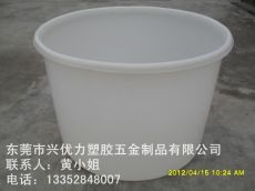 供应防腐蚀塑料化工圆桶 耐酸碱水产养殖桶 抗老化耐磨损蓄水圆桶