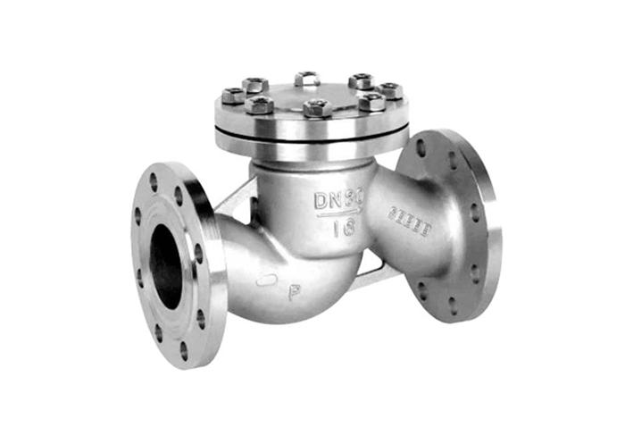 产品简介 规则参数 主要特点 不锈钢法兰升降止回阀的结构图片