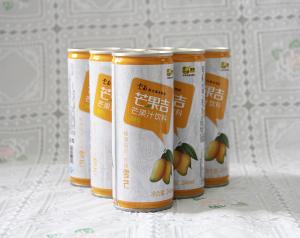 [真果汁]云南绿色生态芒果汁玉丹芒果吉246ml*6 罐装/盒 厂家直销