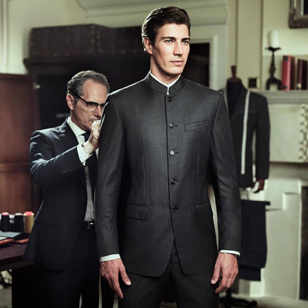 男士中山装定制 成都西服定制 西装定做 结婚礼服定做
