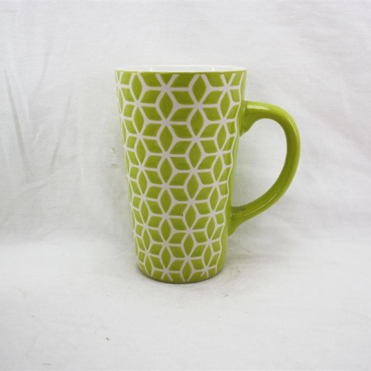 图片仅供参考,外贸创意马克杯 礼品水杯子咖啡杯 批发手绘奶茶陶瓷杯